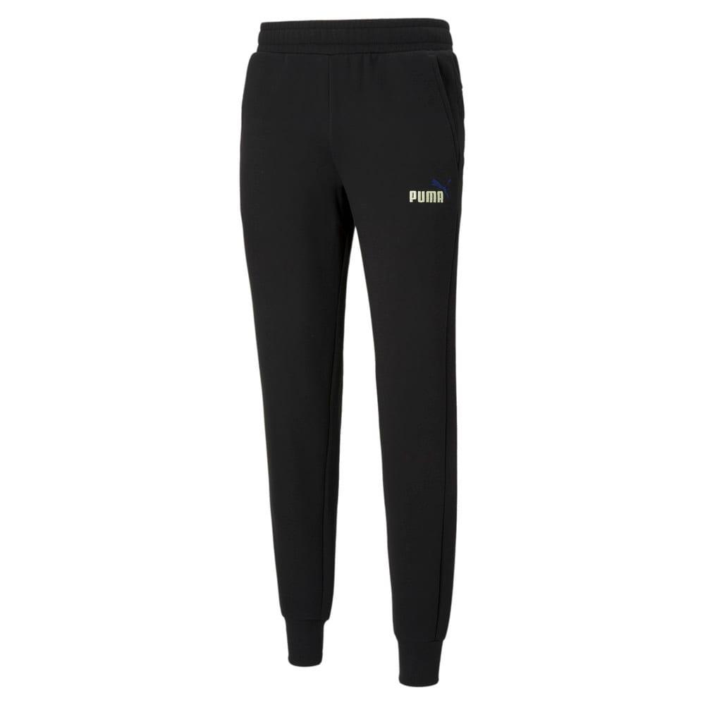 Зображення Puma Штани ESS+ Embroidery Logo Pants #1: Puma Black