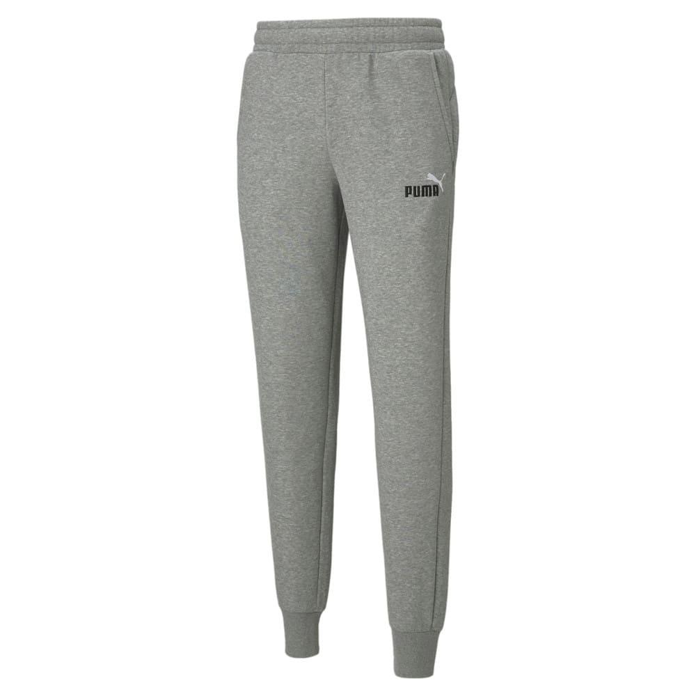Изображение Puma Штаны ESS+ Embroidery Logo Pants #1: Medium Gray Heather