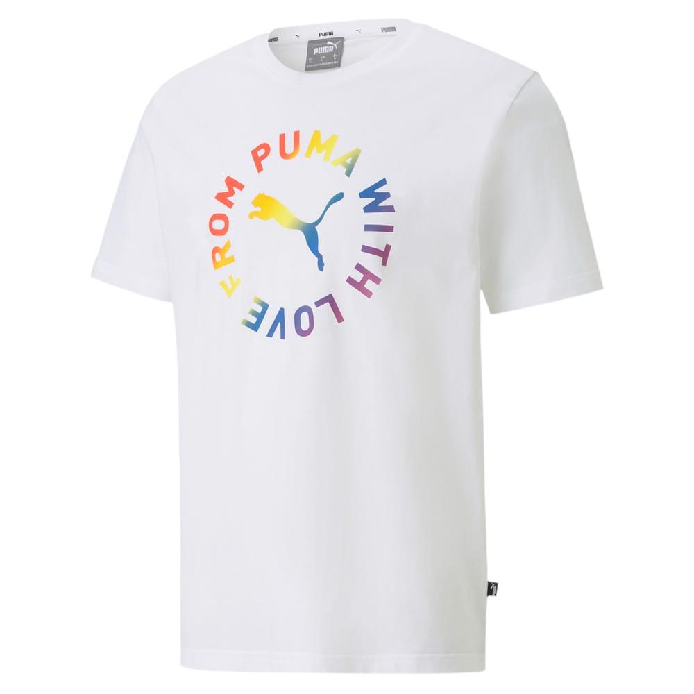 Imagen PUMA Polera con estampado gráfico Pride para hombre #1