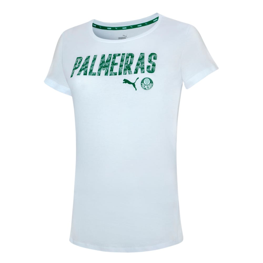 Image PUMA Camiseta Palmeiras Casual 2021 Feminina #1