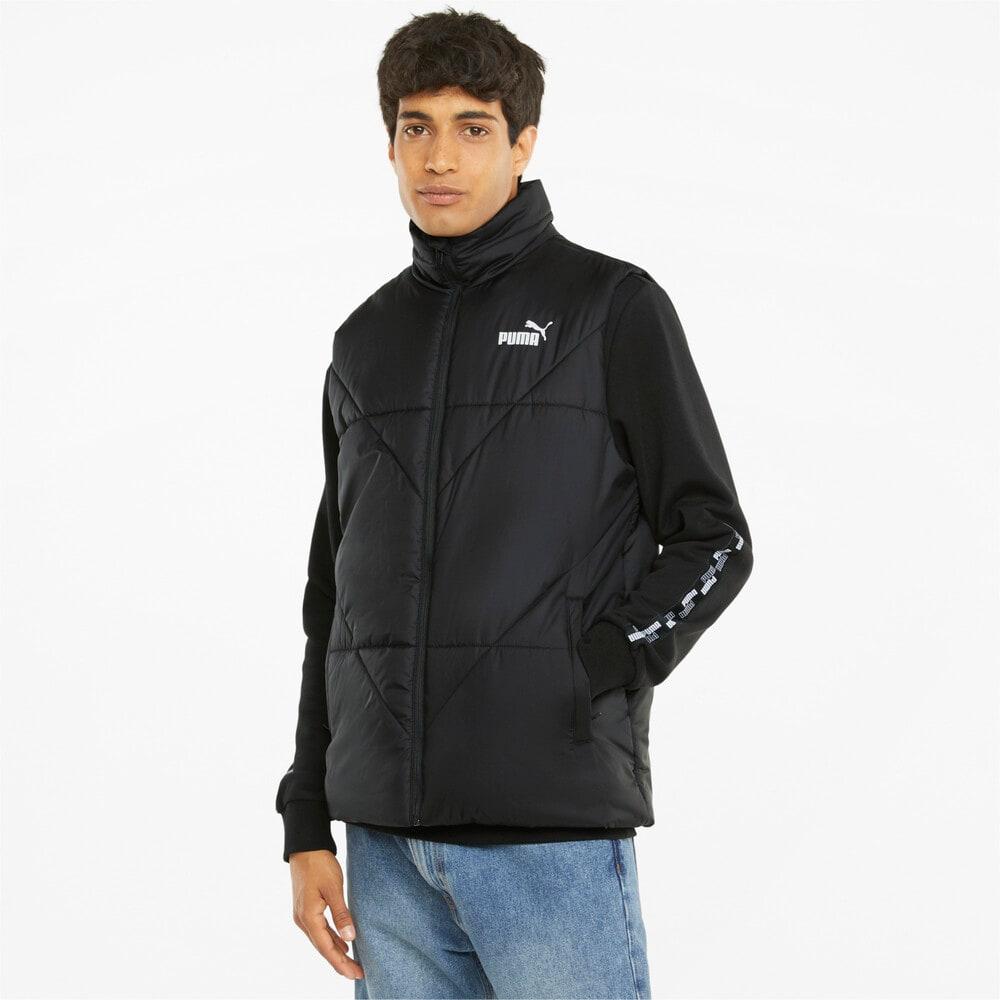 Зображення Puma Жилет Essentials Padded Men's Vest #1: Puma Black