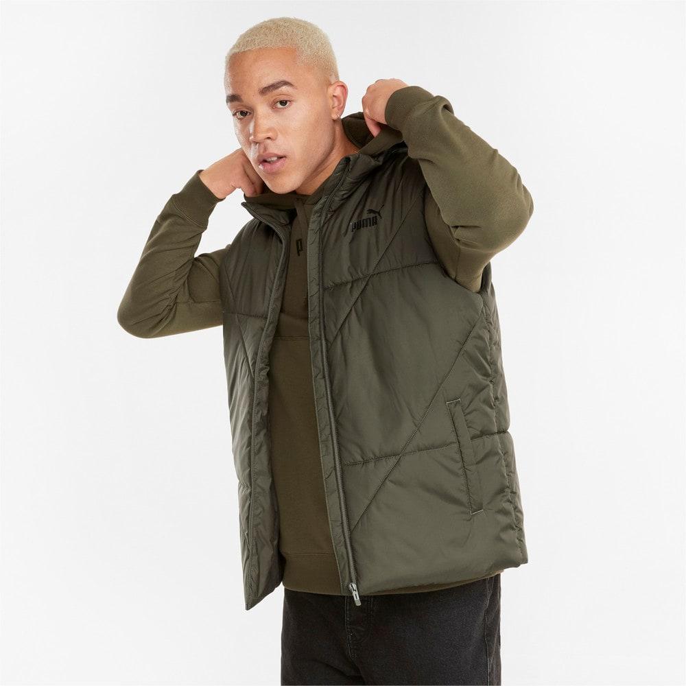 Изображение Puma Жилет Essentials Padded Men's Vest #1: Grape Leaf