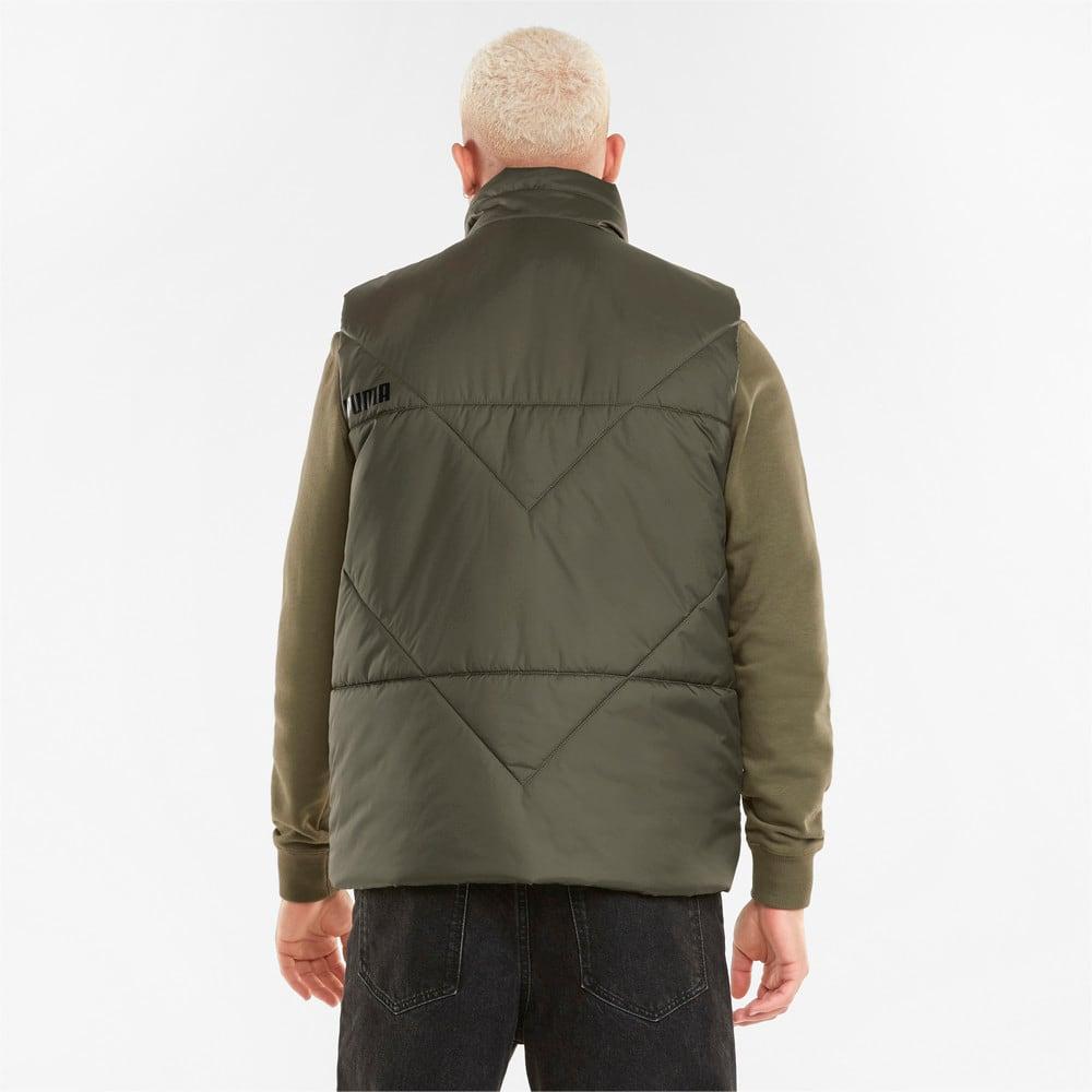 Изображение Puma Жилет Essentials Padded Men's Vest #2: Grape Leaf