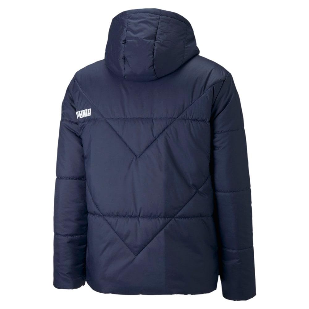 Изображение Puma Куртка Essentials Padded Men's Jacket #2: Peacoat