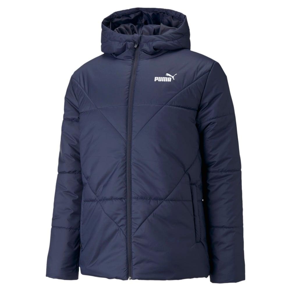 Изображение Puma Куртка Essentials Padded Men's Jacket #1: Peacoat