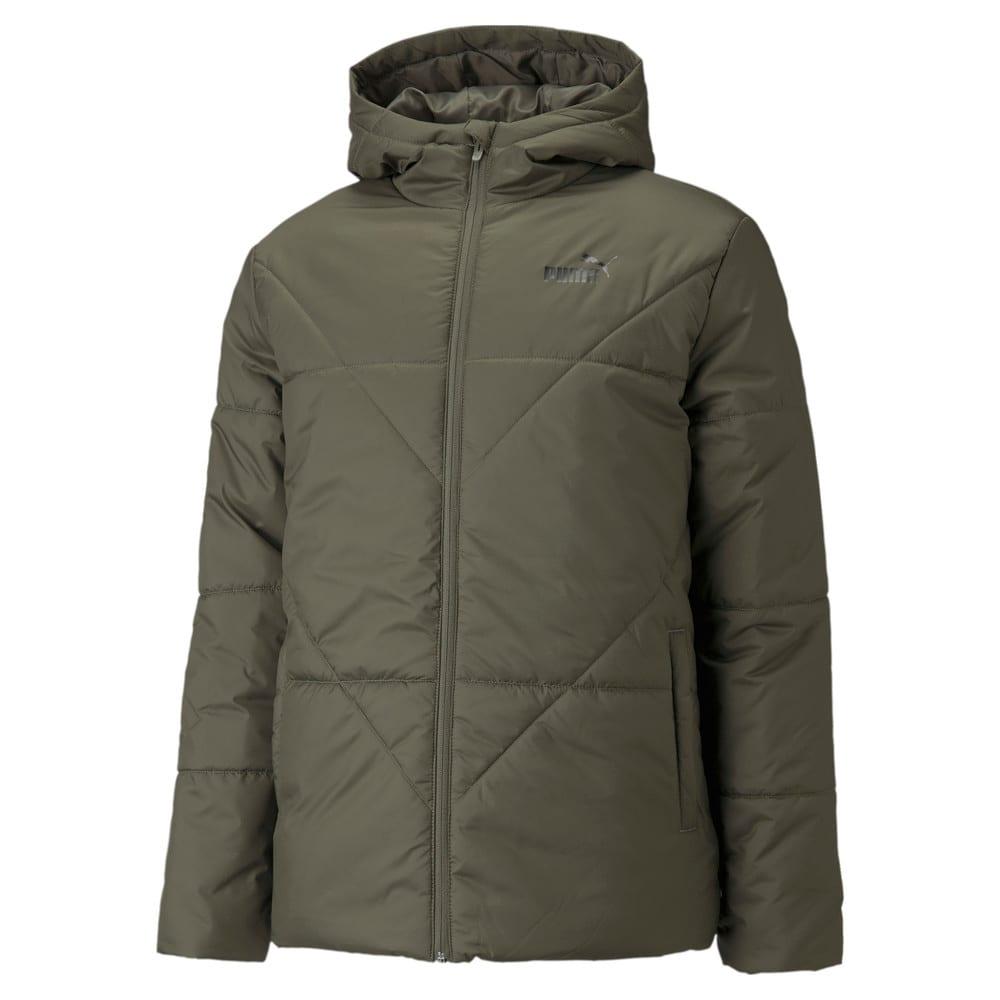 Изображение Puma Куртка Essentials Padded Men's Jacket #1: Grape Leaf