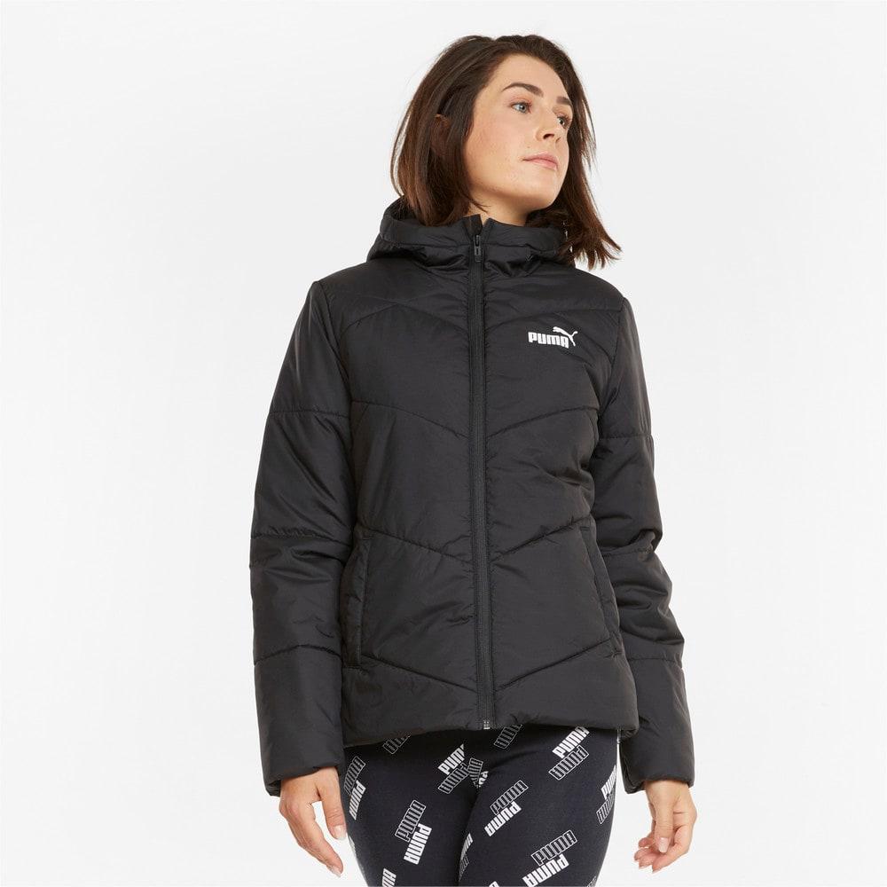 Зображення Puma Куртка Essentials Padded Women's Jacket #1: Puma Black