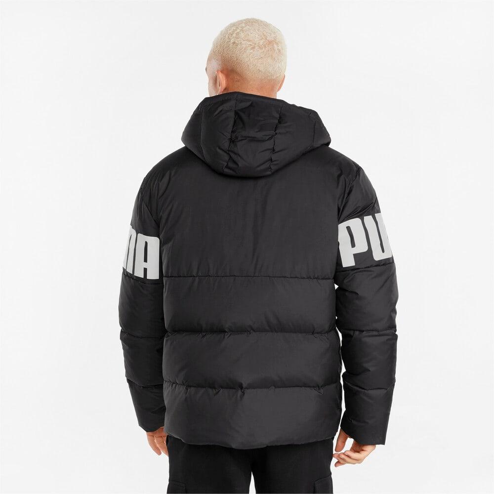 Изображение Puma Куртка Essentials+ CB Down Men's Jacket #2: Puma Black-white print