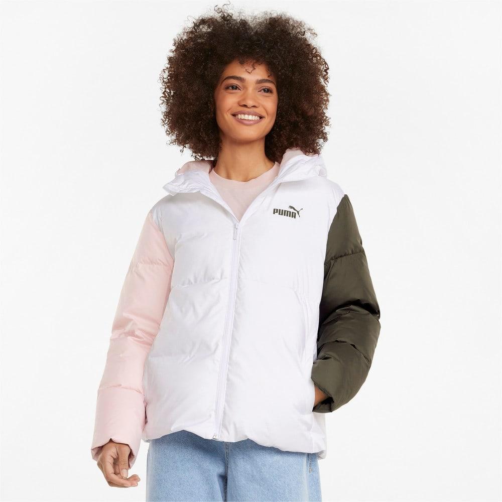 Изображение Puma Куртка Essentials+ CB Down Women's Jacket #1: Puma White