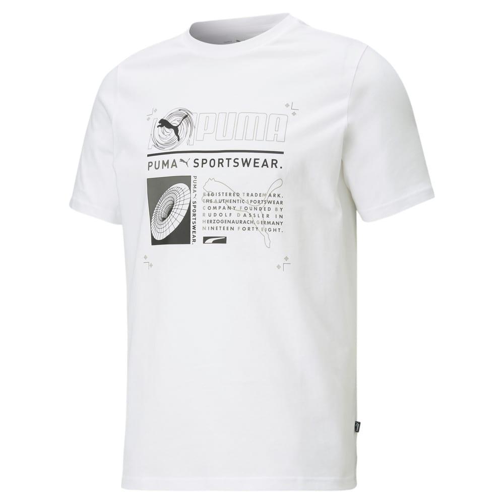 Изображение Puma Футболка Reflective Men's Tee #1: Puma White