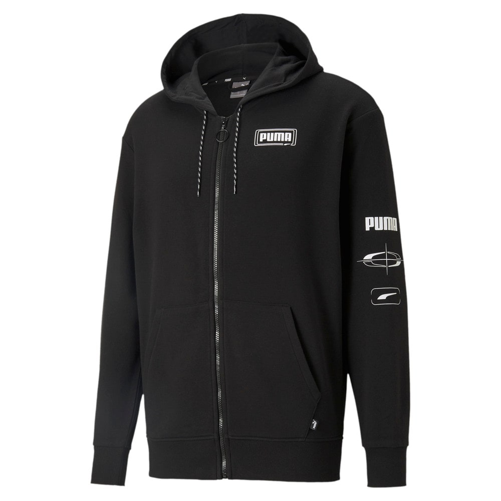 Изображение Puma Толстовка Rebel Advanced Full-Zip Men's Hoodie #1
