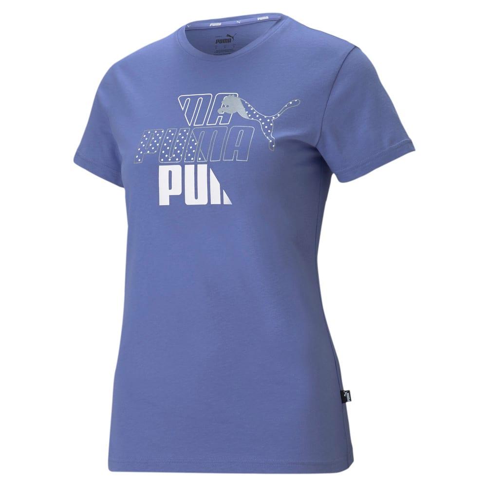 Изображение Puma Футболка Graphic Women's Tee #1