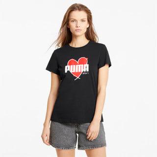 Image PUMA Camiseta Heart Feminina