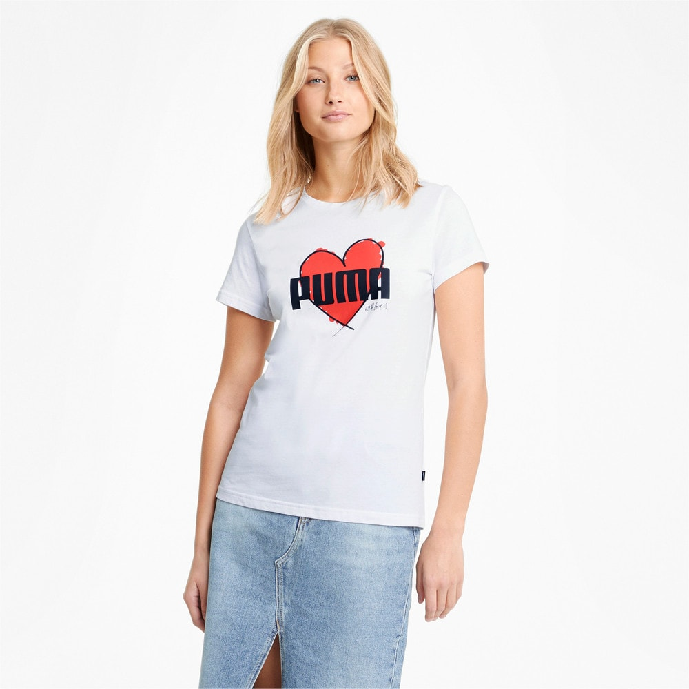 Image Puma Valentine's Heart Tee #1