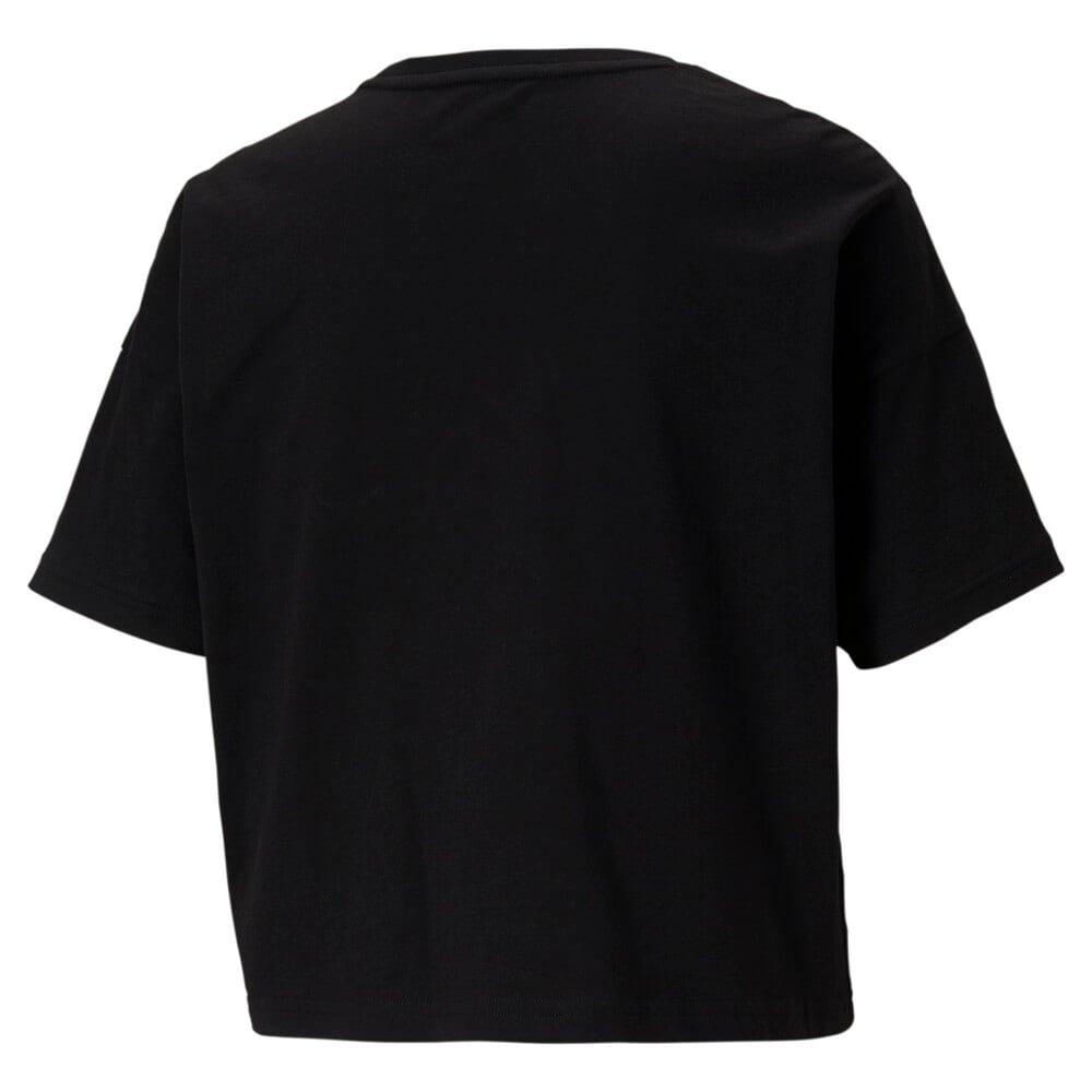 Image PUMA Camiseta Logo Cropped Feminina #2