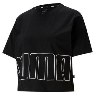 Image PUMA Camiseta Logo Cropped Feminina