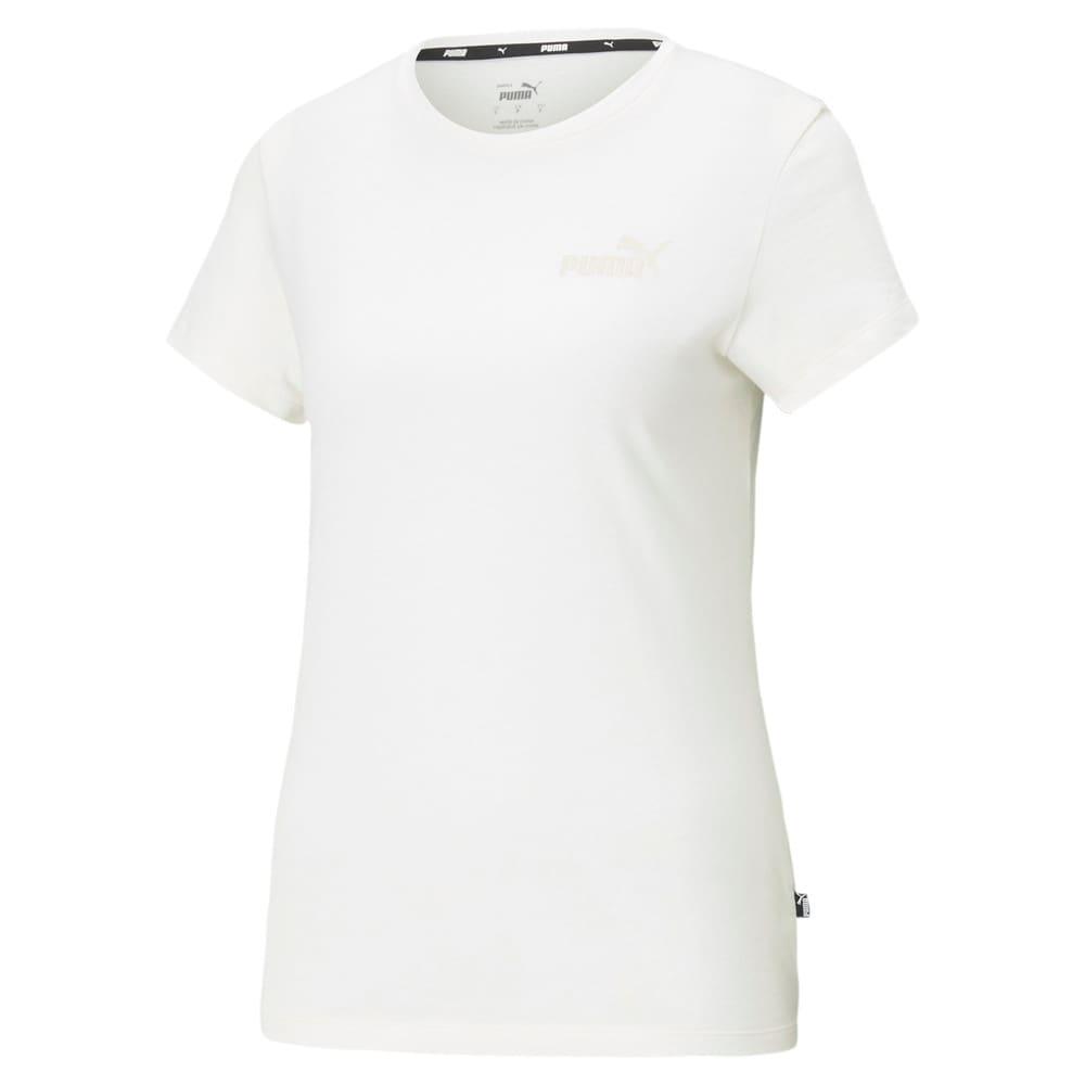 Изображение Puma Футболка Essentials Embroidered Women's Tee #1: no color