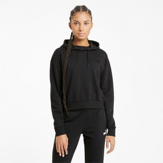 Зображення Puma Толстовка Essentials Embroidered Cropped Women's Hoodie