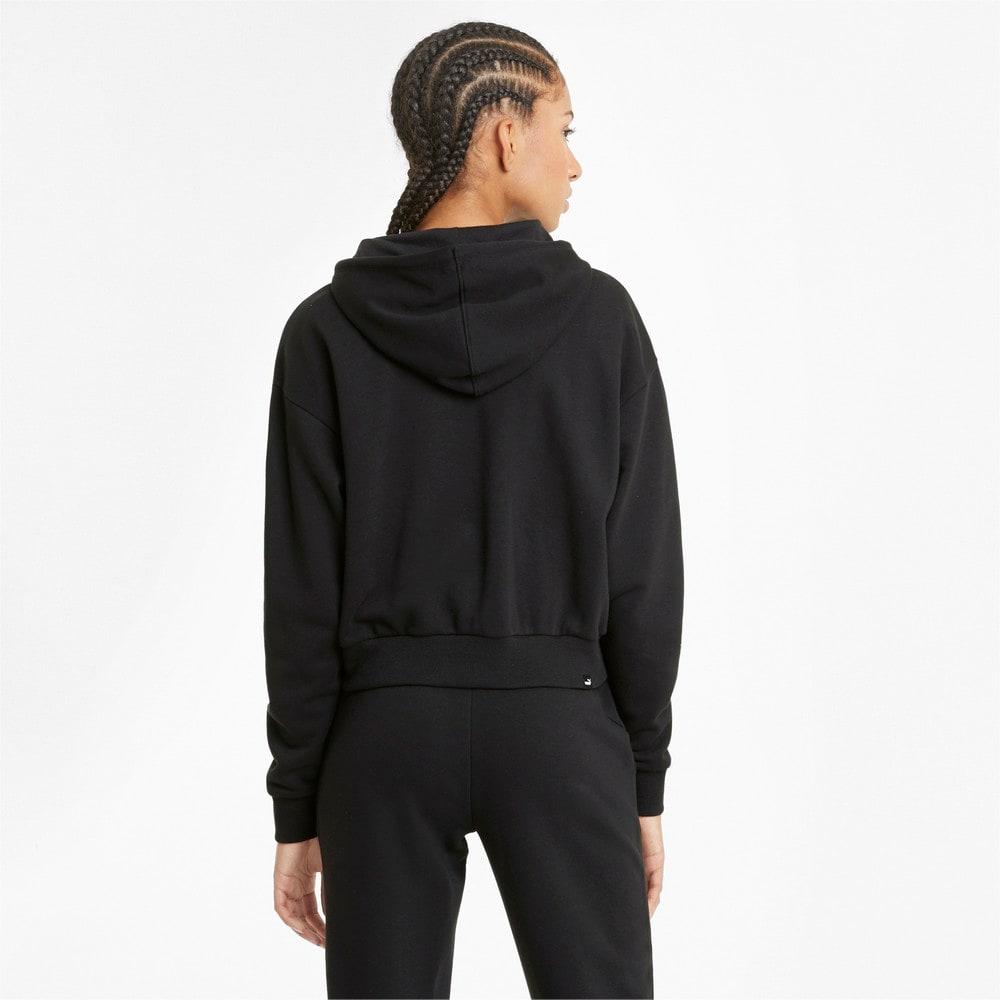 Изображение Puma Толстовка Essentials Embroidered Cropped Women's Hoodie #2