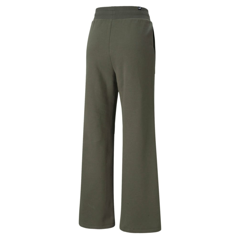 Изображение Puma Штаны Essentials+ Embroidered Wide Women's Pants #2: Grape Leaf