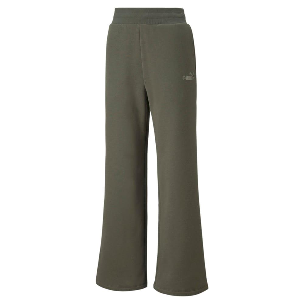 Изображение Puma Штаны Essentials+ Embroidered Wide Women's Pants #1: Grape Leaf