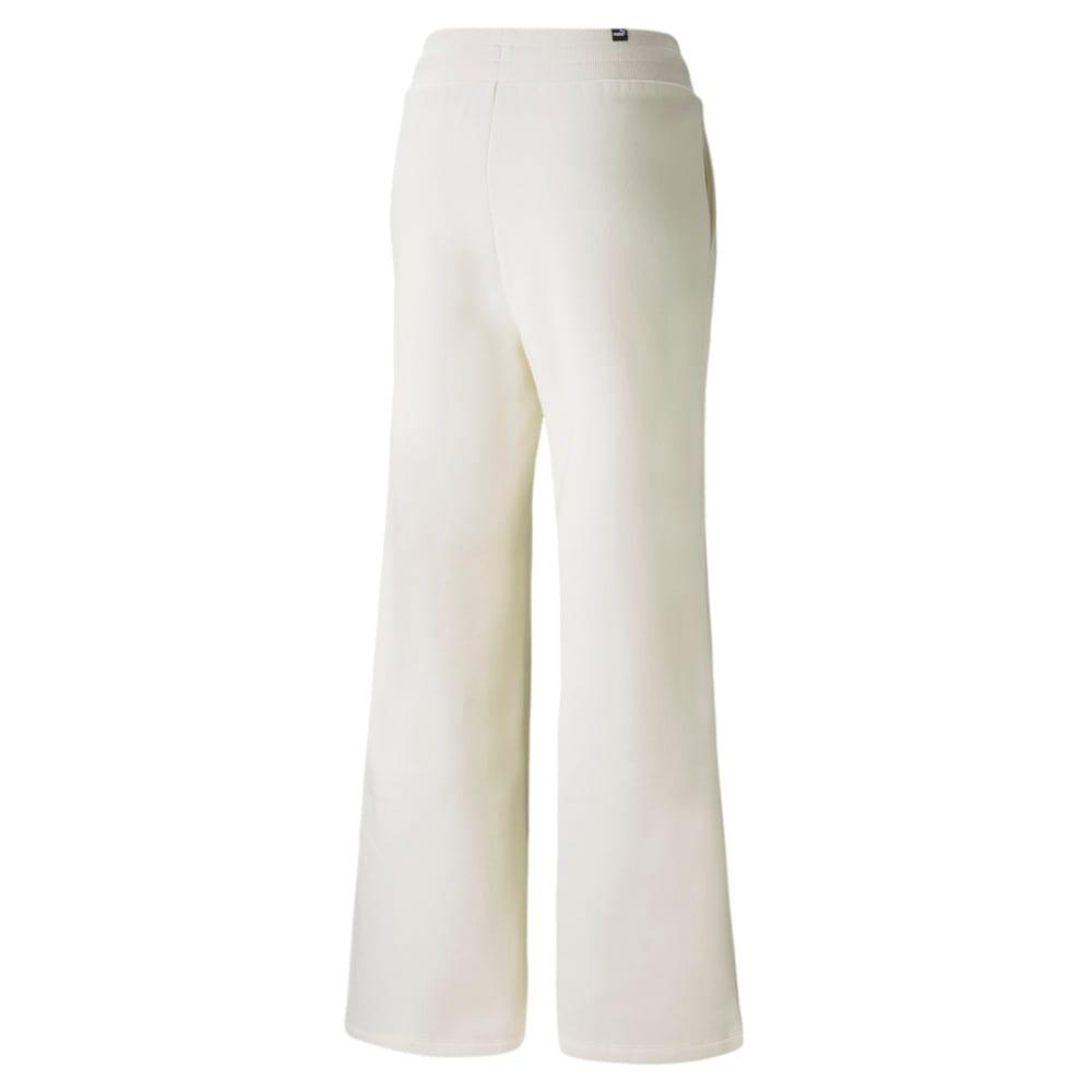Изображение Puma Штаны Essentials+ Embroidered Wide Women's Pants #2: no color
