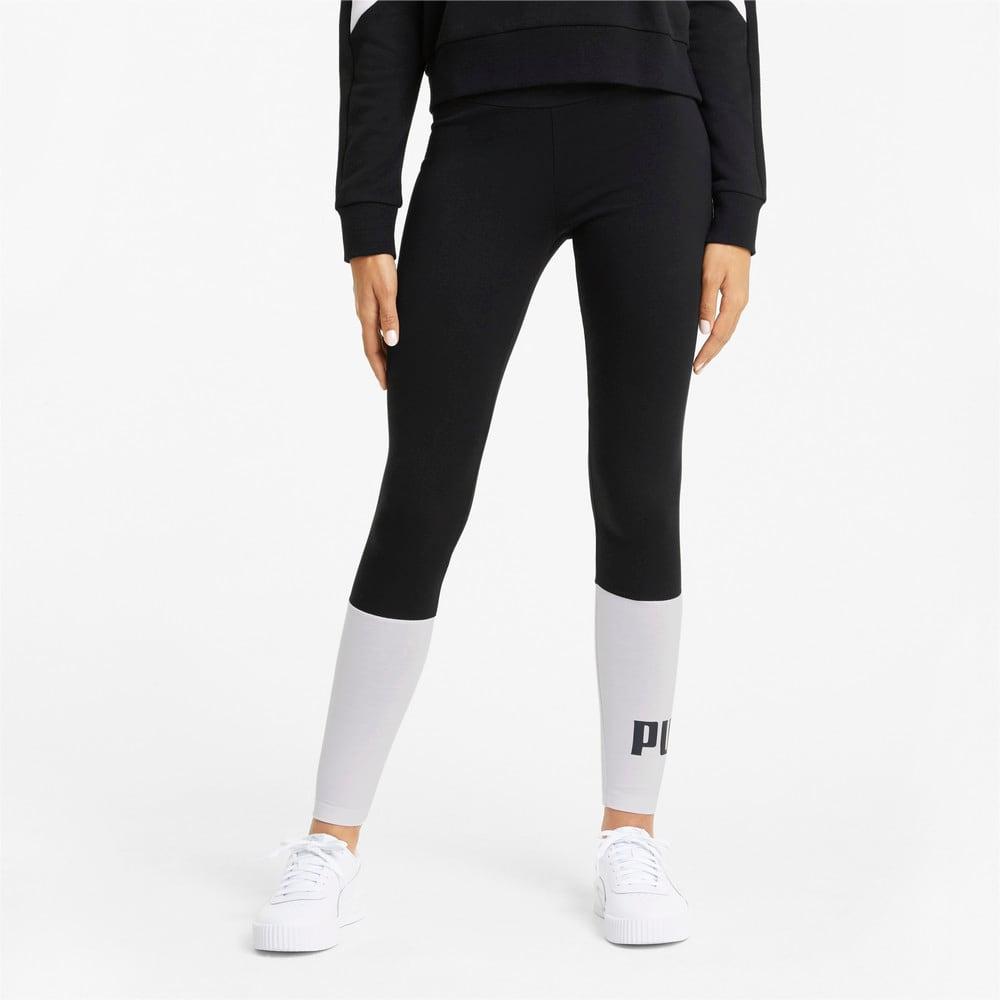 Изображение Puma Леггинсы Essentials+ Colourblock Women's Leggings #1