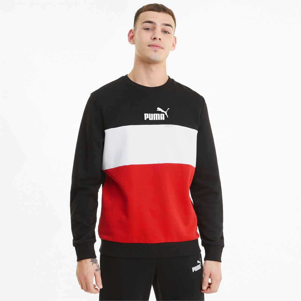 Изображение Puma Толстовка Essentials+ Crew Neck Men's Sweatshirt #1