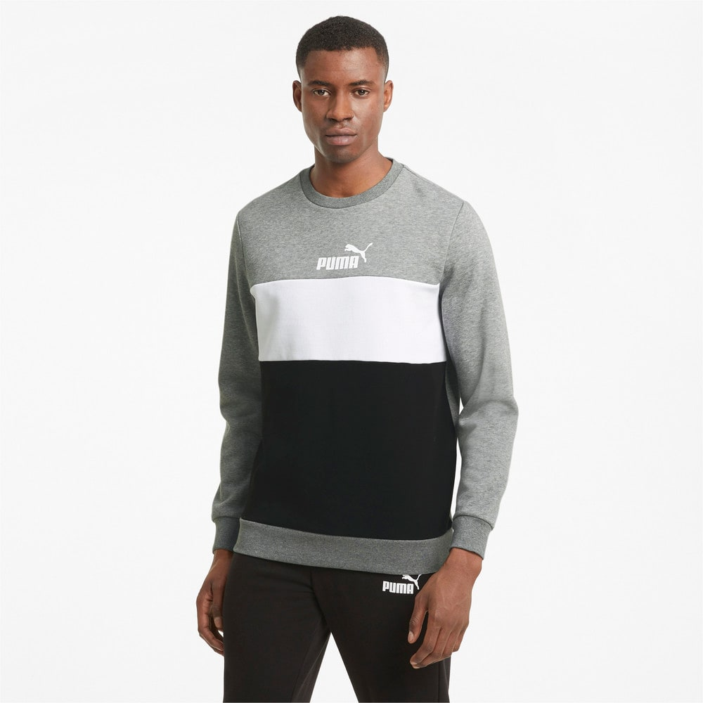 Изображение Puma Толстовка Essentials+ Crew Neck Men's Sweatshirt #1