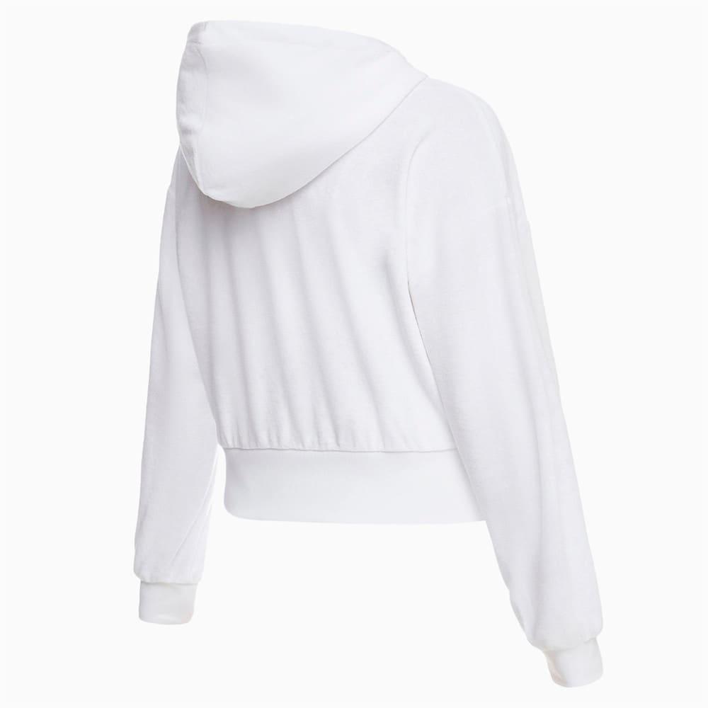 Зображення Puma Толстовка Towel Cropped Full Zip Women's Hoodie #2