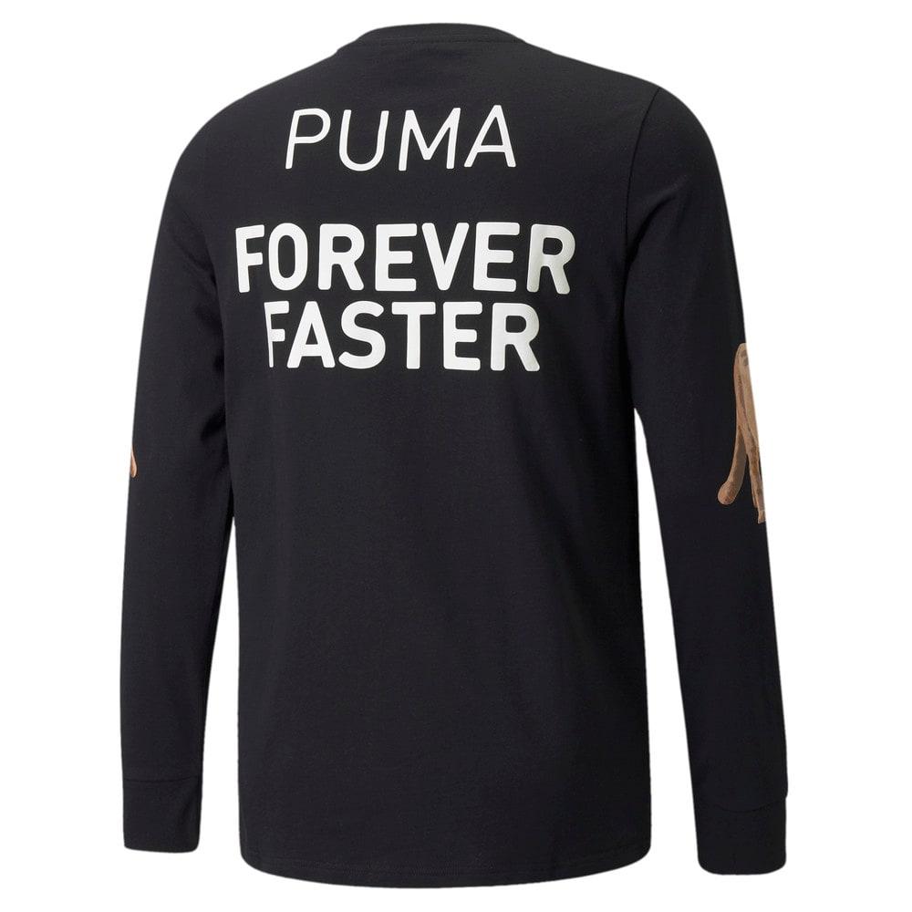 Изображение Puma Футболка с длинным рукавом PUMA x RHUIGI Long Sleeve Men's Basketball Tee #2