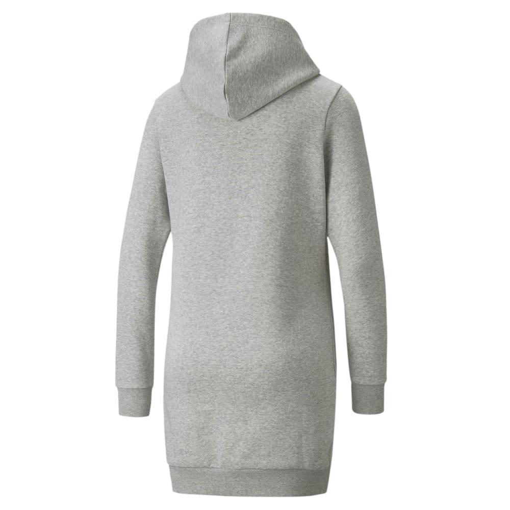 Изображение Puma Платье Essentials Hooded Women's Dress #2: light gray heather