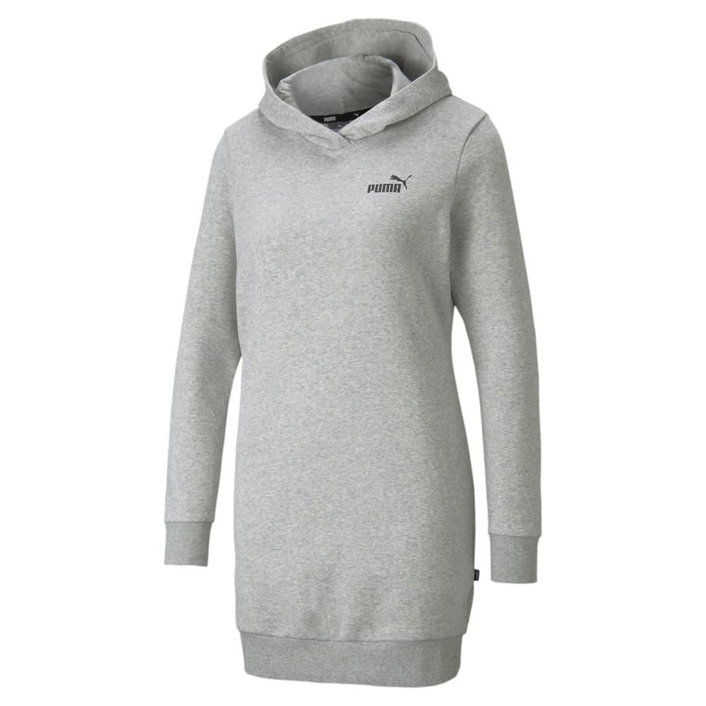 Изображение Puma Платье Essentials Hooded Women's Dress #1: light gray heather