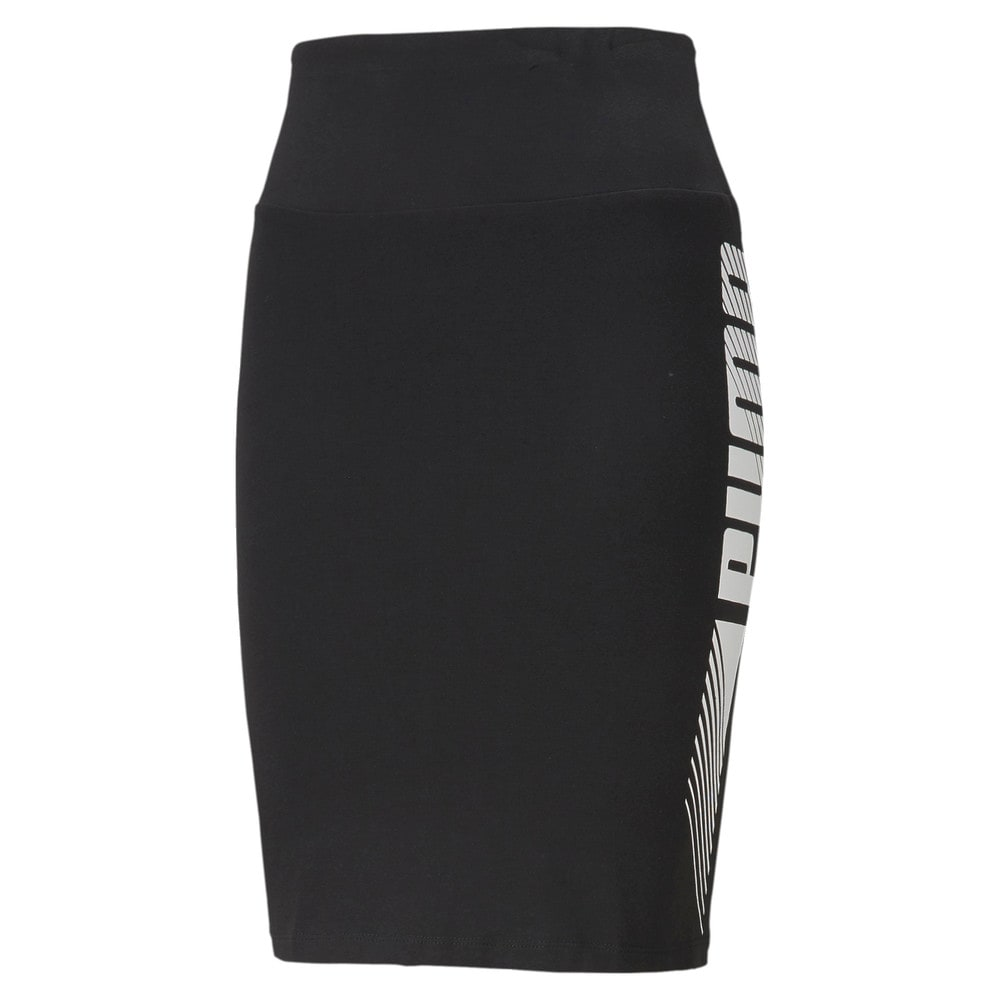 Зображення Puma Спідниця Essentials Graphic Women's Skirt #1: Puma Black