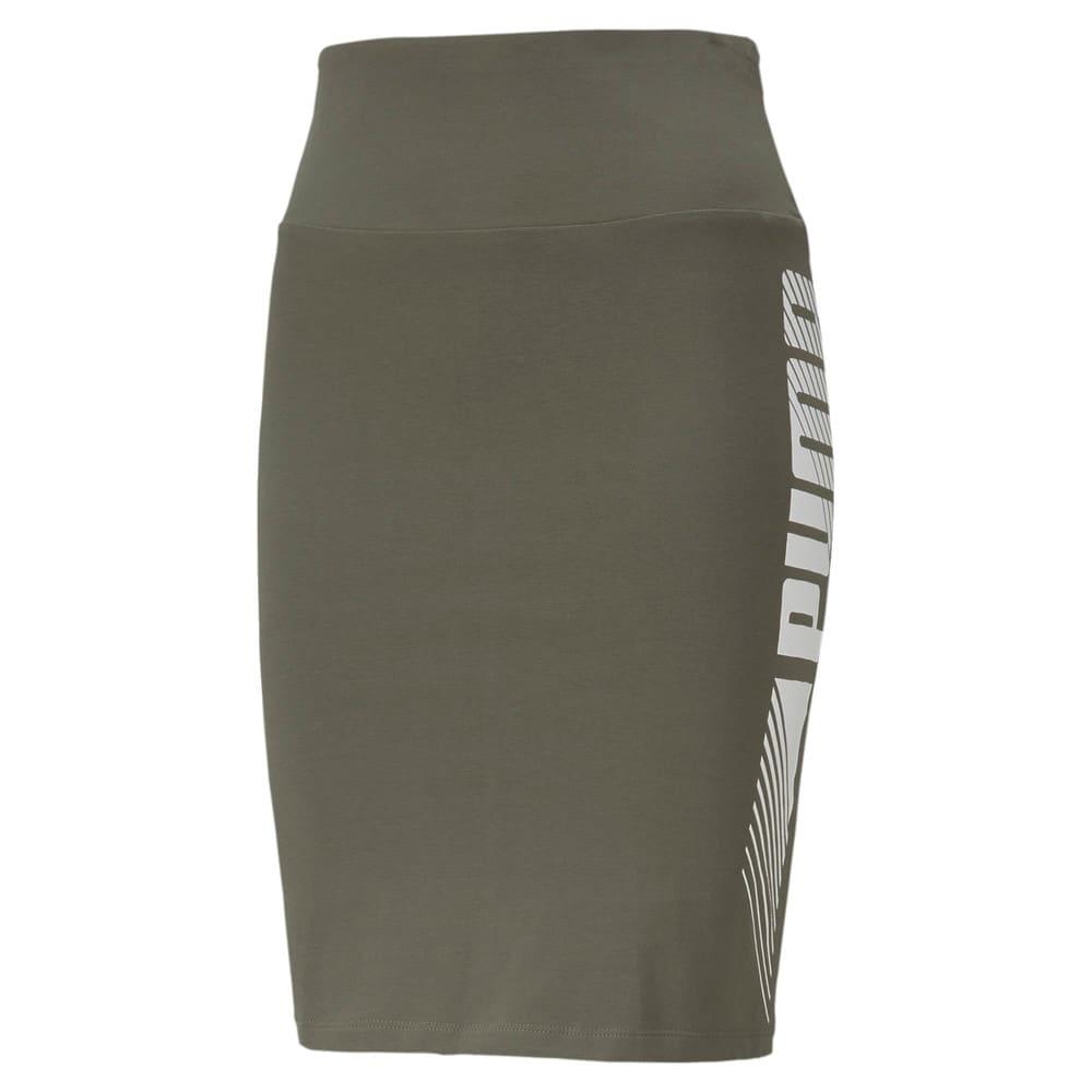 Image Puma Essentials Graphic Women's Skirt #1