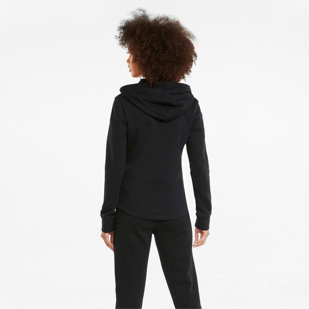 Изображение Puma Спортивный костюм Classic Hooded Women's Tracksuit #2: Puma Black
