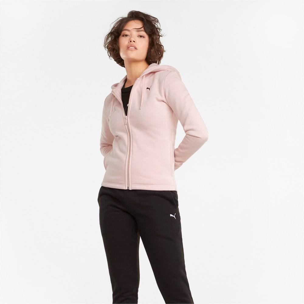 Изображение Puma Спортивный костюм Classic Hooded Women's Tracksuit #1: Lotus