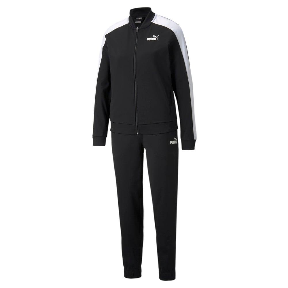 Изображение Puma Спортивный костюм Women's Baseball Tricot Tracksuit #1: Puma Black
