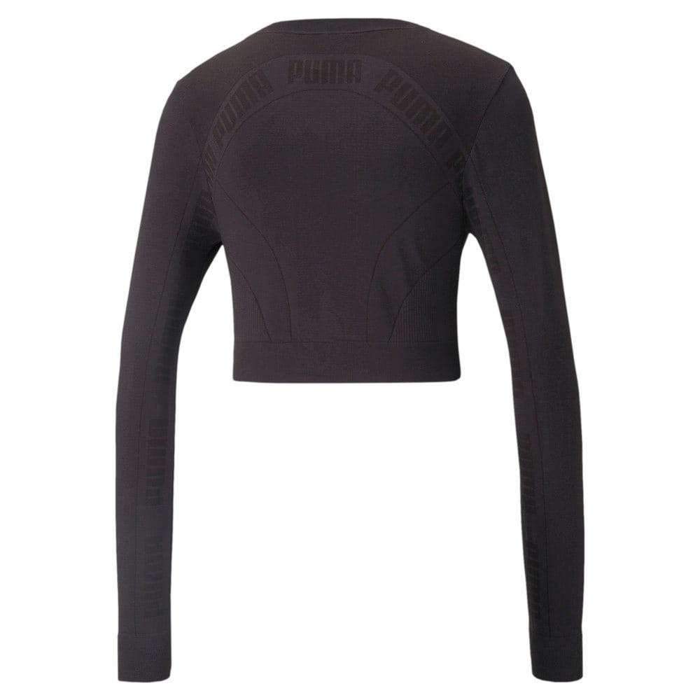 Görüntü Puma EVOSTRIPE evoKNIT Uzun Kollu Kadın T-shirt #2