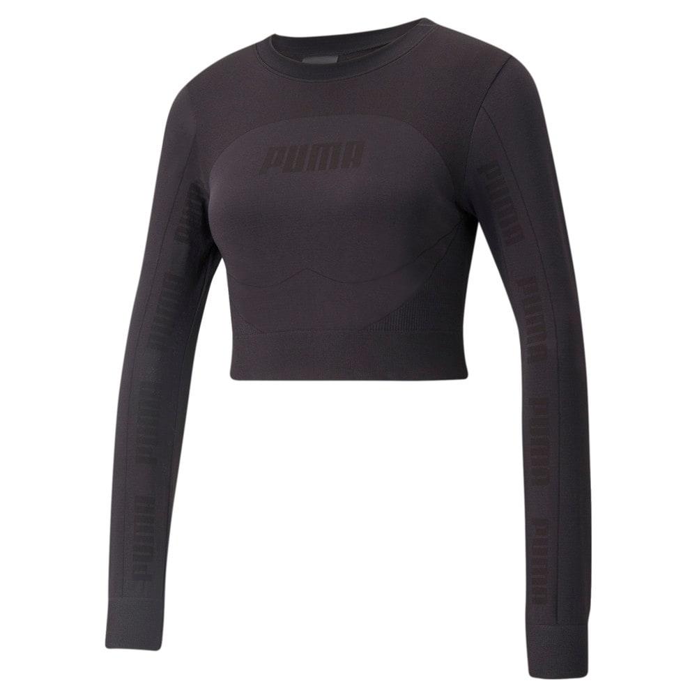 Görüntü Puma EVOSTRIPE evoKNIT Uzun Kollu Kadın T-shirt #1