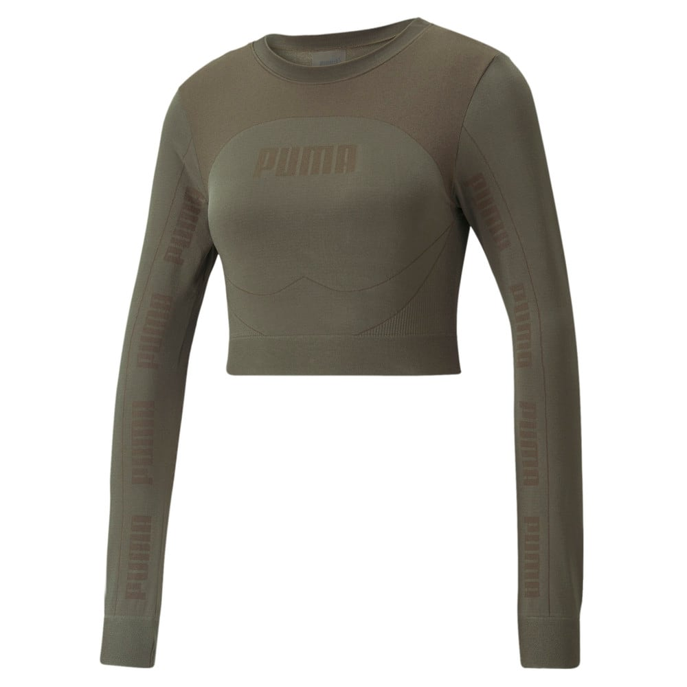 Image PUMA Camiseta Evostripe evoKNIT Long Sleeve Feminina #1