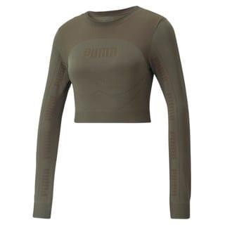 Camiseta Evostripe evoKNIT Long Sleeve Feminina