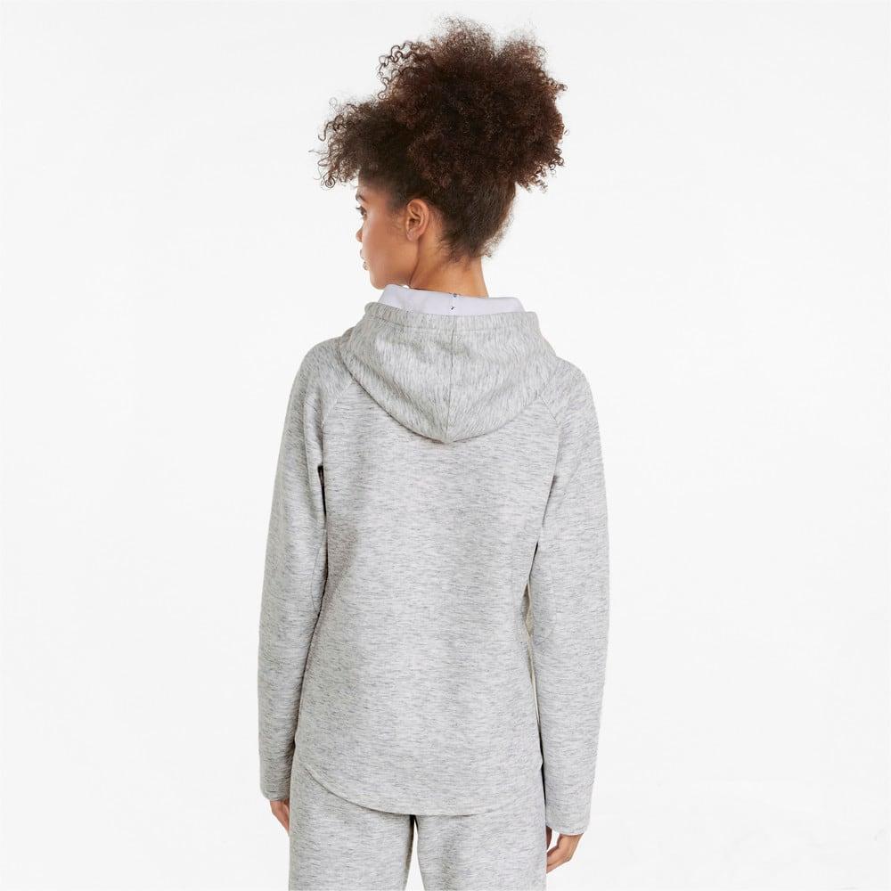 Görüntü Puma EVOSTRIPE Fermuarlı Kadın Kapüşonlu Sweatshirt #2