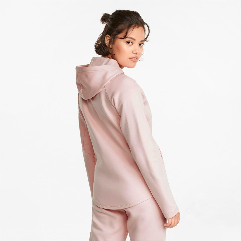 Imagen PUMA Chaqueta con capucha y cierre completo para mujer Evostripe #2