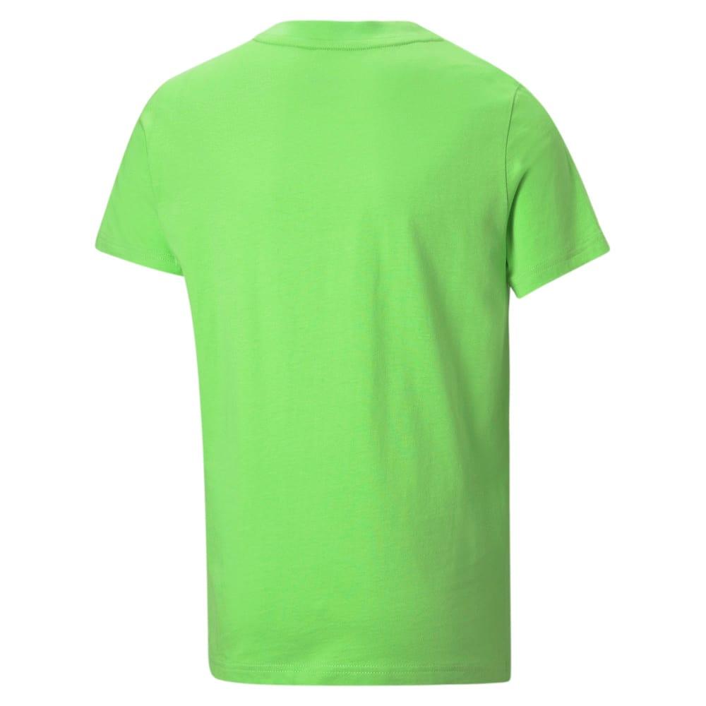 Изображение Puma Футболка Active Sport Graphic Youth Tee #2: green flash