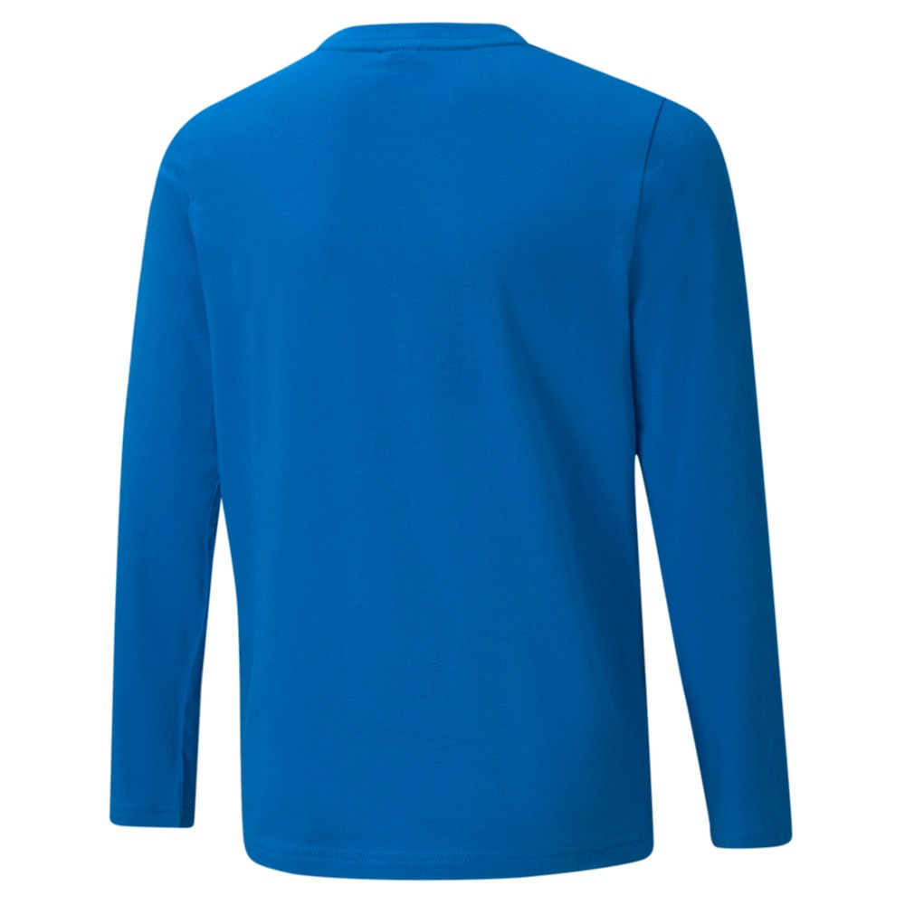 Изображение Puma Детская футболка с длинным рукавом Active Sport Long Sleeve Youth Tee #2