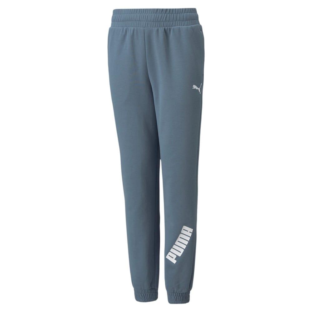 Изображение Puma Детские штаны Modern Sports Youth Pants #1: China Blue