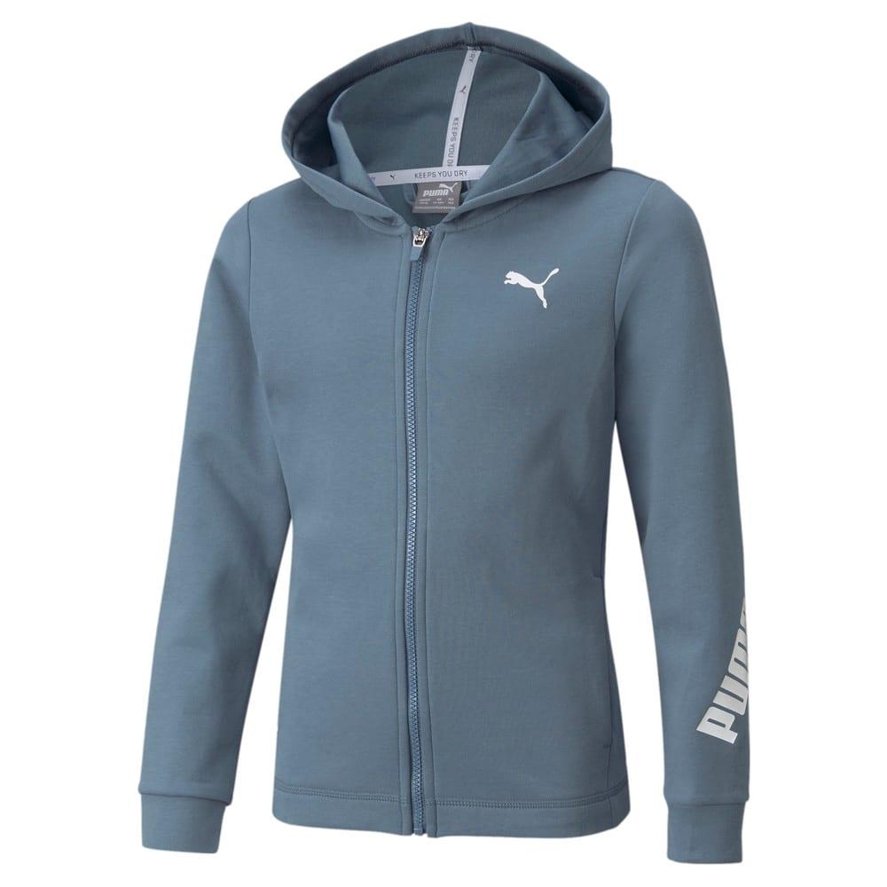 Зображення Puma Дитяча толстовка Modern Sports Full-Zip Youth Hoodie #1: China Blue