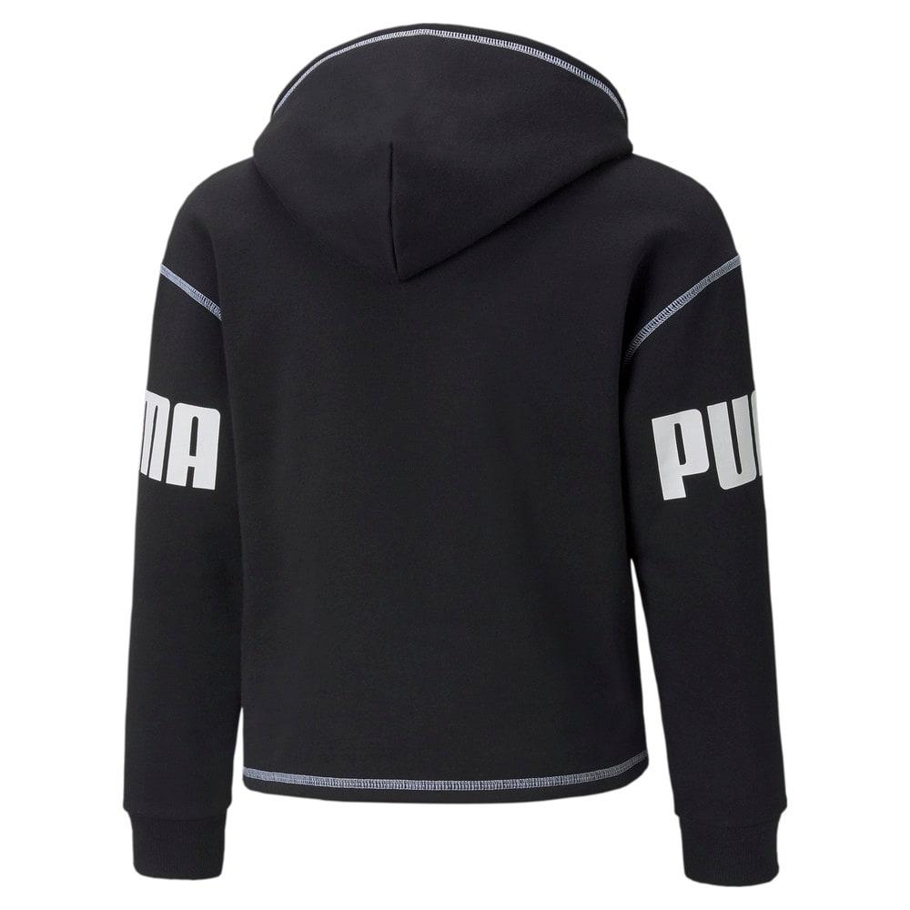Изображение Puma Детская толстовка Power Youth Hoodie #2: Puma Black