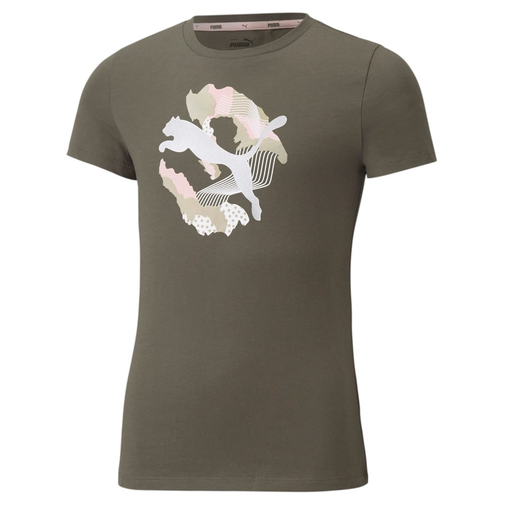 Зображення Puma Дитяча футболка Alpha Youth Tee #1: Grape Leaf